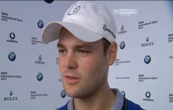 Martin Kaymer in Munich