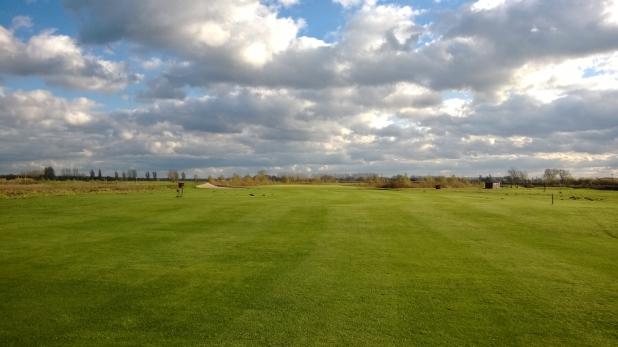 Golf in Wall im November 01