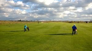 Golf in Wall im November 04