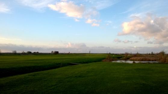 Hole 10 in Richtung Grün Golf in Wall