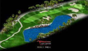 Abu Dhabi HSBC Golf Championship 2014 Bild 01
