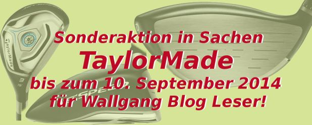 TaylorMade Wallgang Banner 2014