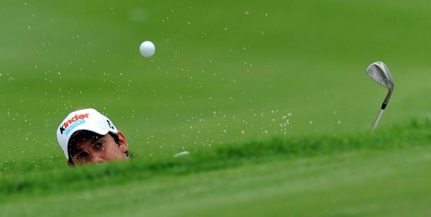Junge Golfer