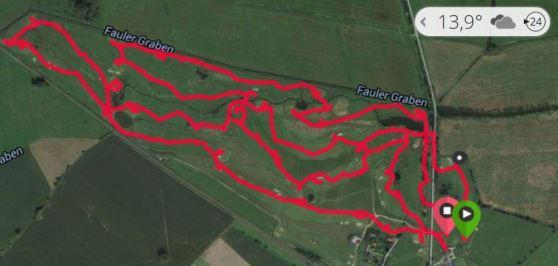 GPS Date der Golfrunde