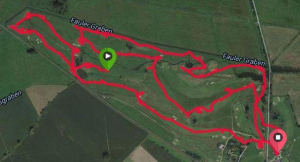 GPS Golf Runde