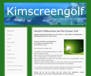 Kim Screen Golf Berlin
