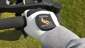 Golfhandschuh Banner