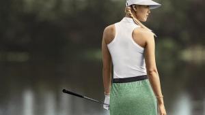 Neu von Nike: Golfpolo mit Racerback