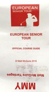 Deckblatt Birdiebook European Senior Tour